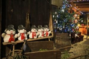 Décorations de Noël à Bergheim © Office de Tourisme Pays de Ribeauvillé-Riquewihr