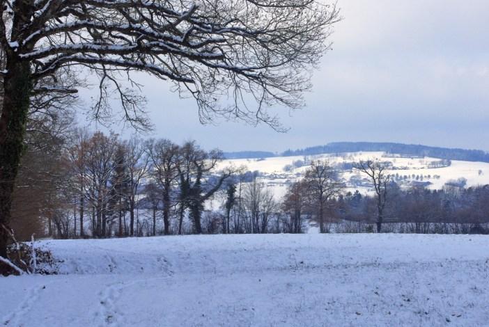 Plateau des Bornes sous la neige © French Moments