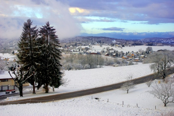 Groisy sous la neige © French Moments