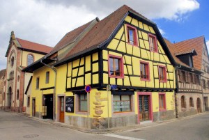 Maison alsacienne à Bergheim © French Moments