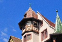 Girouette de la Maison Pfister à Colmar © French Moments