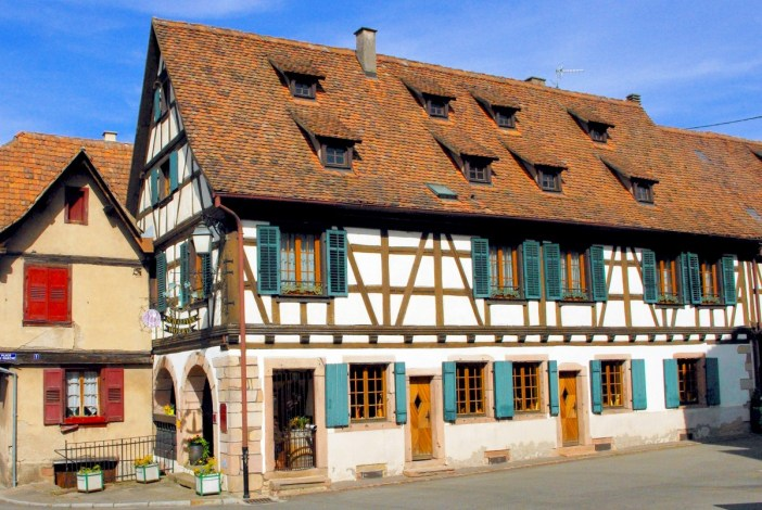 Maison alsacienne à Dambach-la-Ville © French Moments