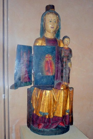 Vierge ouvrante d'Eguisheim, Alsace © French Moments