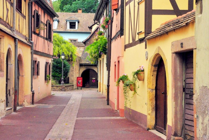 La rue de la Herse, Colmar © French Moments