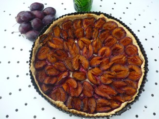 Tarte aux Quetsches © French Moments
