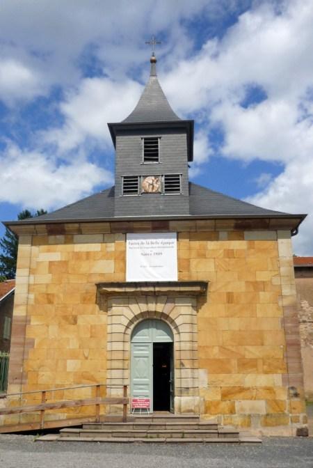 La chapelle Sainte-Anne de la cristallerie © French Moments