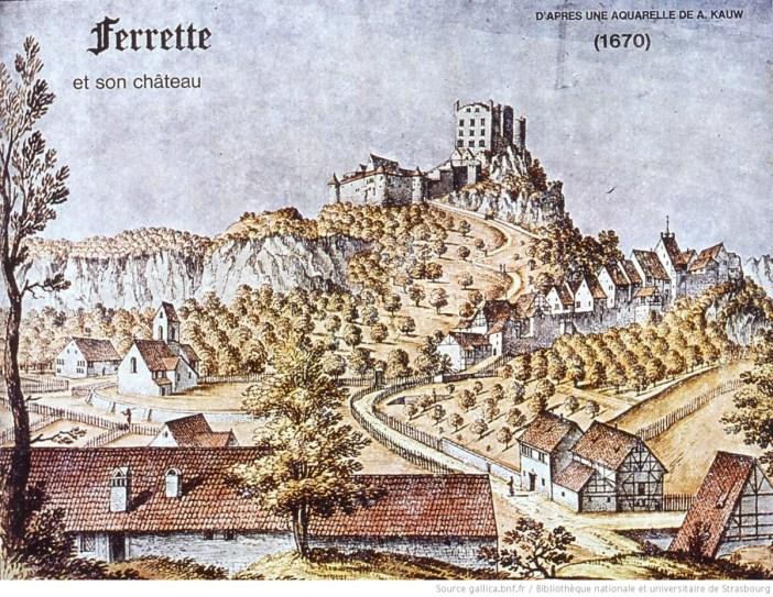 château de Ferrette