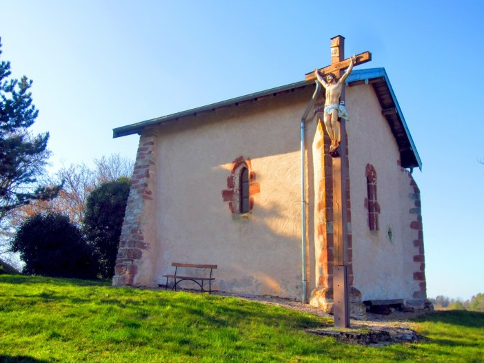 Chapelle Saint-Pierre à Fontenoy-la-Joûte © Aimelaime - licence [CC BY-SA 4.0] from Wikimedia Commons