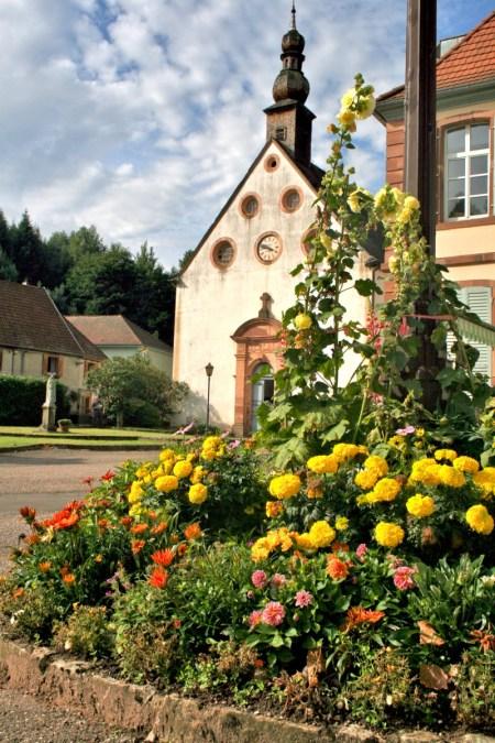 L'église des Verriers de Lettenbach (Saint-Quirin) © François Philipp - licence [CC BY 2.0] from Wikimedia Commons
