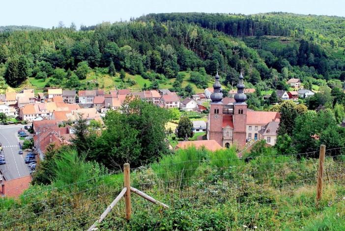 Le village de Saint-Quirin