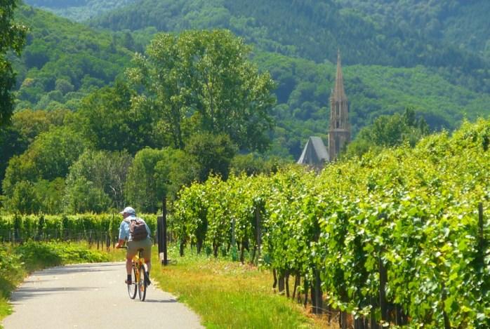 Le vignoble du Rangen à Thann © French Moments