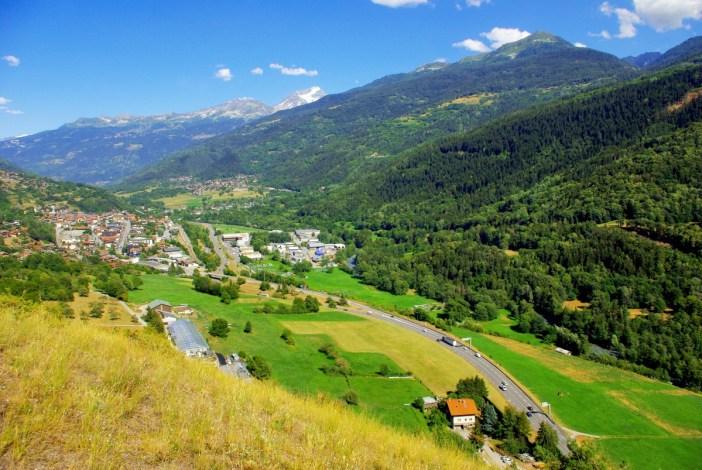 Aime-la-Plagne vue depuis Villaroland © French Moments
