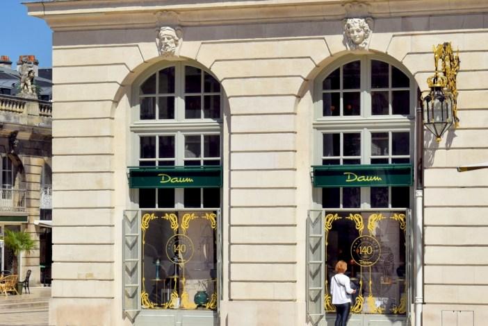 La boutique Daum sur la Place Stanislas © French Moments