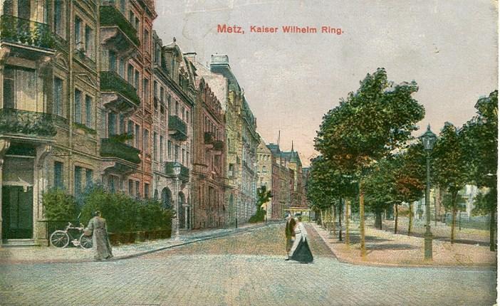 quartier impérial allemand de Metz