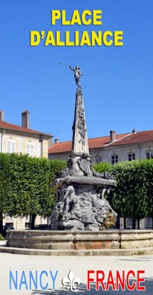 Découvrez la place d'Alliance à Nancy © French Moments
