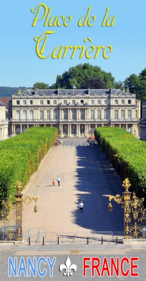 Découvrez la belle place de la Carrière à Nancy, inscrite au patrimoine mondial de l'Unesco © French Moments