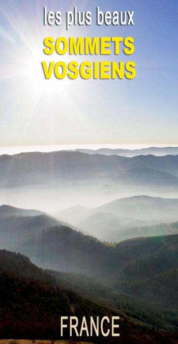 Découvrez les plus beaux sommets vosgiens © French Moments