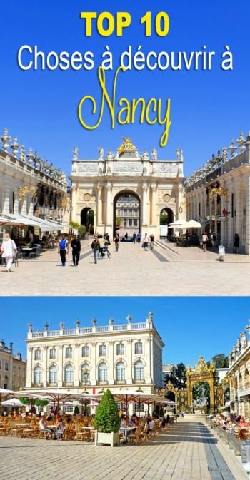 Top 10 choses à découvrir à Nancy © French Moments