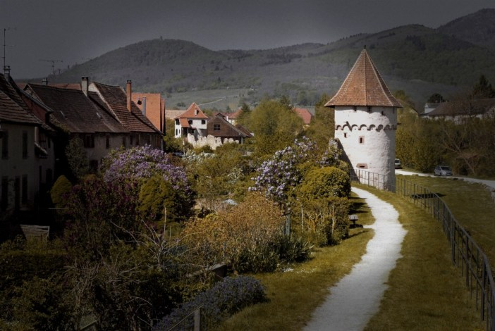 Bergheim : les remparts © French Moments