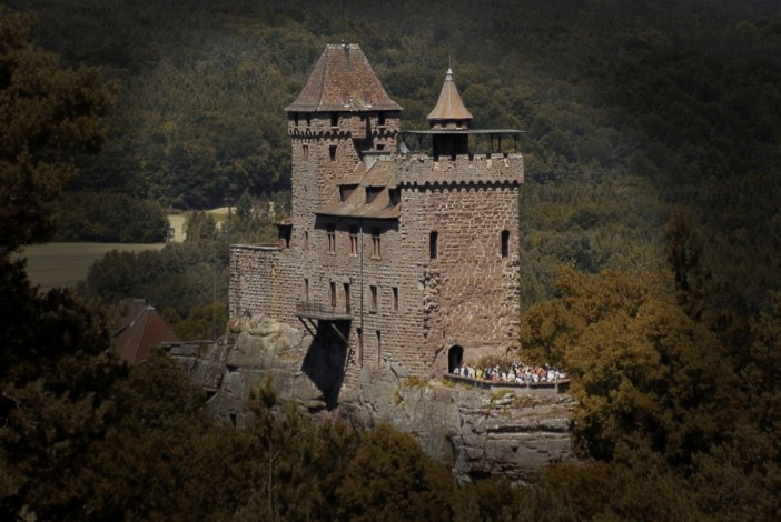 Le château du Berwartstein © Ulli1105 - licence [CC BY-SA 3.0] from Wikimedia Commons