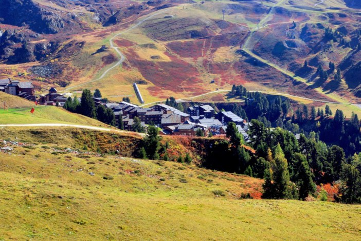 Belle-Plagne vue du mont Saint-Jacques © French Moments