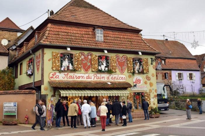 Gertwiller, la maison de pains d'épices Lips © French Moments