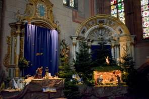 Crèche de Noël de l'abbatiale de Marmoutier © French Moments