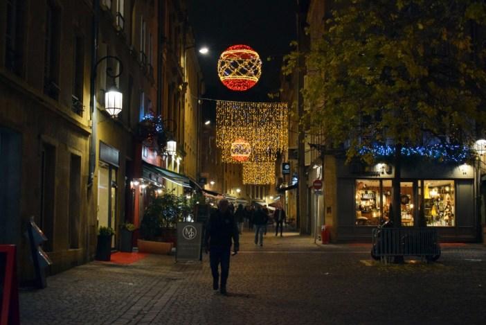 Illuminations de Noël rue du Faisan à Metz © French Moments