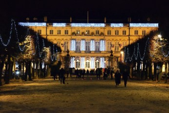 Palais du Gouvernement à Noël, Nancy © French Moments