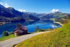 Le lac de Roselend © French Moments