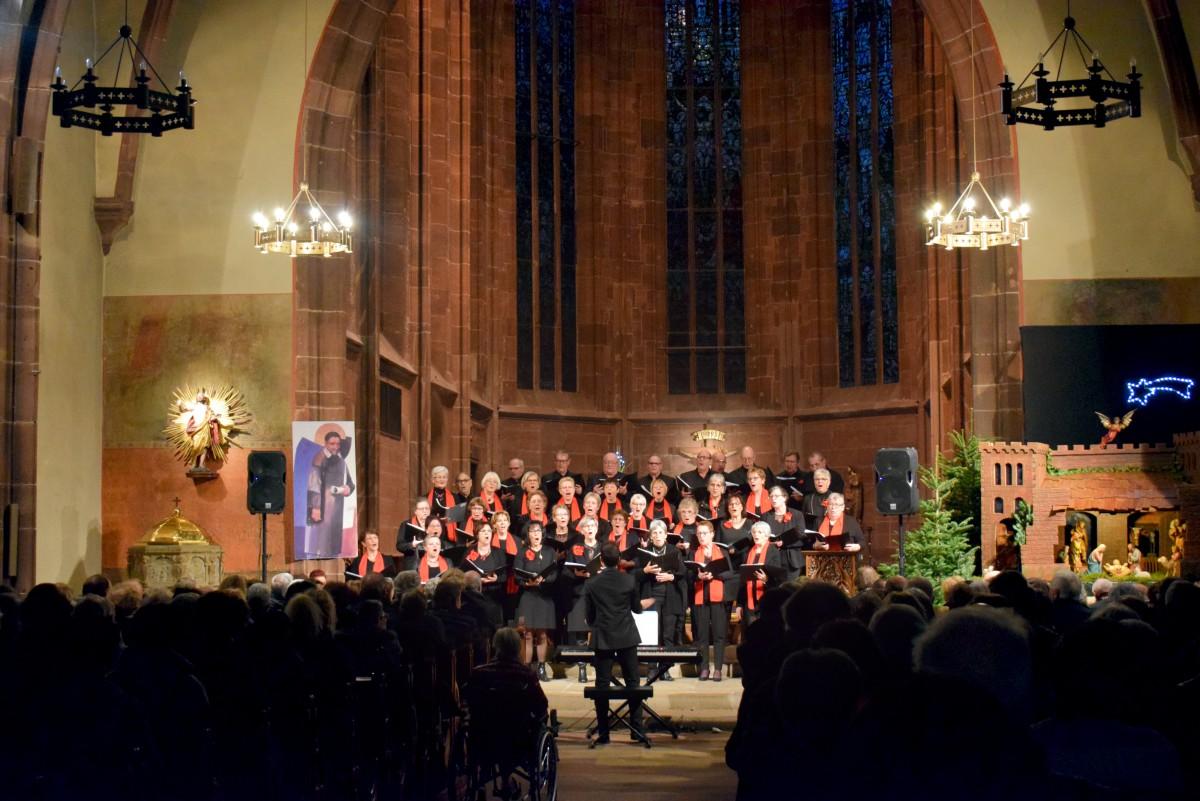 Concert de chants de Noël à Saverne © French Moments