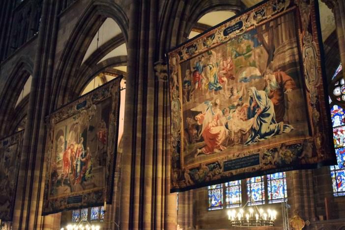 Les tapisseries de la cathédrale de Strasbourg exposées pour Noël © French Moments