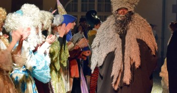 Le spectacle déambulatoire de Noël à Wissembourg © French Moments