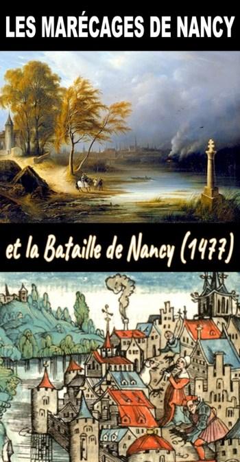 A la recherche des marécages de Nancy et la Bataille de 1477