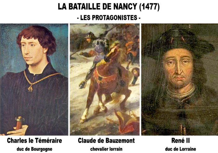 Protagonistes Bataille de Nancy