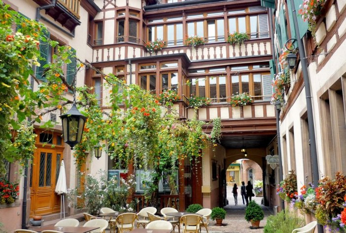 Hôtel des Têtes à Colmar © French Moments