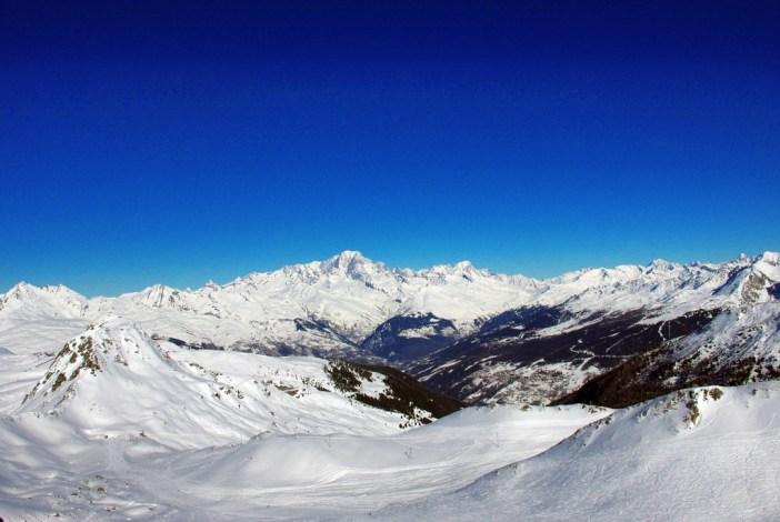 La vue à bord de la télécabine de la Roche de Mio © French Moments
