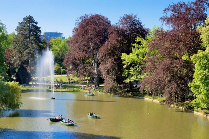 Parc de l'Orangerie de Strasbourg LR © Remi.leblond - licence [CC BY 3.0] from Wikimedia Commons