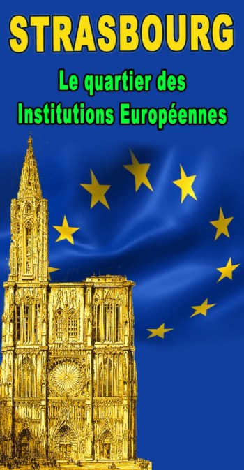 Découvrez l'histoire et les bâtiments historiques du Quartier des Institutions européennes à Strasbourg © French Moments