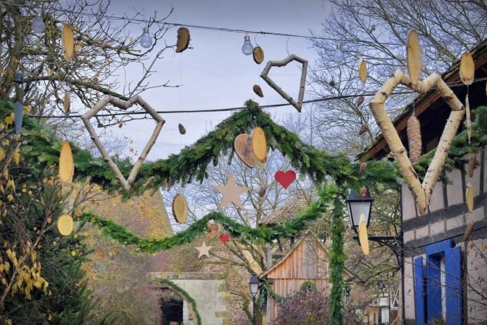 Scène d'un Noël d'antan à l'Écomusée d'Alsace © French Moments