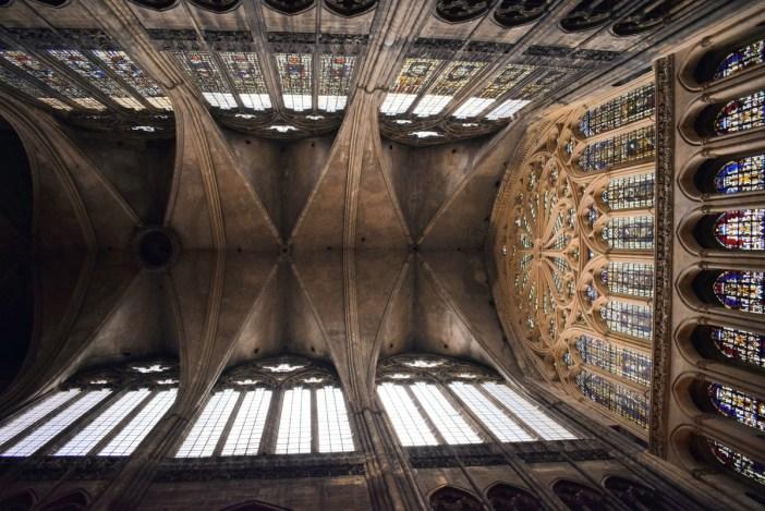 Les voûtes de la cathédrale de Metz © French Moments