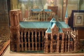 Maquettes de la cathédrale de Reims et d'Amiens © French Moments