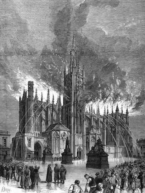 Le grand incendie de mai 1877