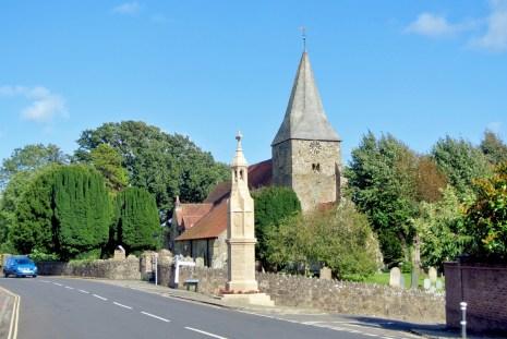 Le village de Burwash (Angleterre) © French Moments