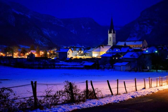 Thorens-Glières une nuit d'hiver © French Moments