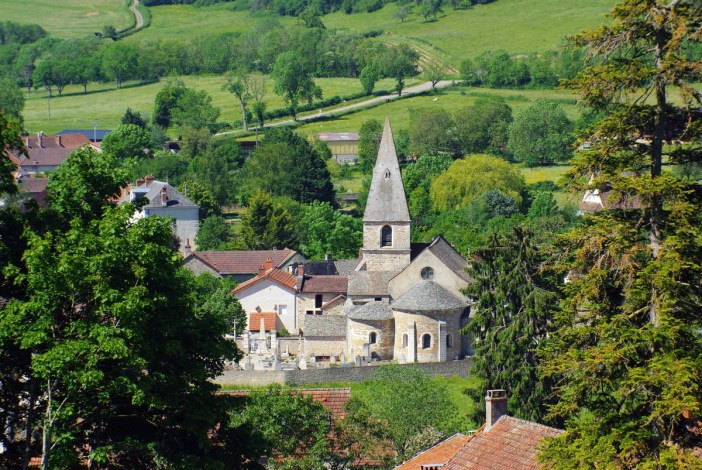 France d'antan - La Rochepot, Bourgogne © French Moments