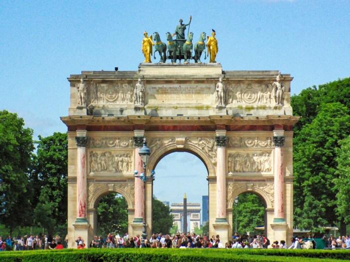 L'Arc de Triomphe du Carrousel à Paris © French Moments