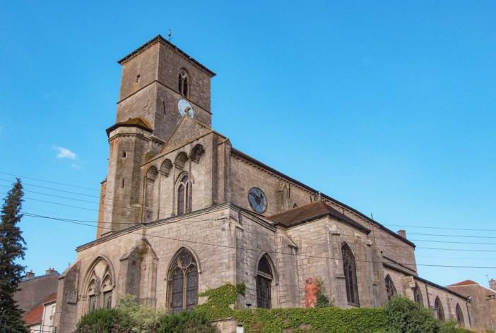 L'église Saint-Christophe de Neufchâteau © BR - licence [CC BY-SA 3.0] from Wikimedia Commons