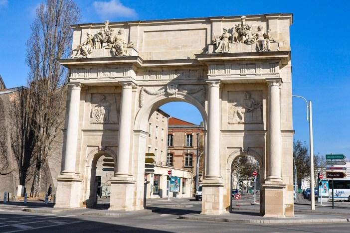 Porte Sainte Catherine Cote Ville © M.Strīķis - licence [CC BY-SA 3.0] from Wikimedia Commons