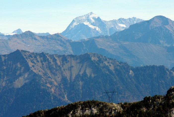 Le mont Pourri vu du Semnoz © French Moments